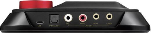 5.1 Soundkarte, Extern Sound Blaster Omni Surround 5.1 Digitalausgang, externe Kopfhöreranschlüsse, externe Lautstärkenr