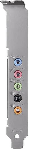 5.1 Soundkarte, Intern Creative Labs SoundBlaster Audigy FX PCIe x1 externe Kopfhöreranschlüsse