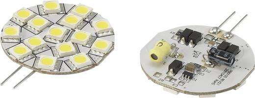 LED (einfarbig) G4 Stiftsockel 2.3 W = 15 W Kaltweiß (Ø x L) 35 mm x 45 mm EEK: n.rel. Renkforce 1 St.