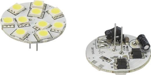 LED (einfarbig) G4 Stiftsockel 1.5 W = 10 W Kaltweiß (Ø x L) 30 mm x 30 mm EEK: n.rel. Renkforce 1 St.