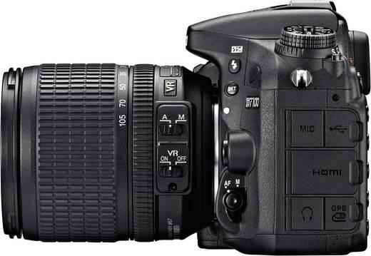 digitale spiegelreflexkamera nikon d7100 kit af s dx 18. Black Bedroom Furniture Sets. Home Design Ideas