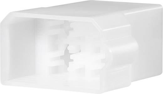 Buchsengehäuse-Kabel FASTIN-FASTON Polzahl Gesamt 8 TE Connectivity 163008 Rastermaß: 9.10 mm 1 St.