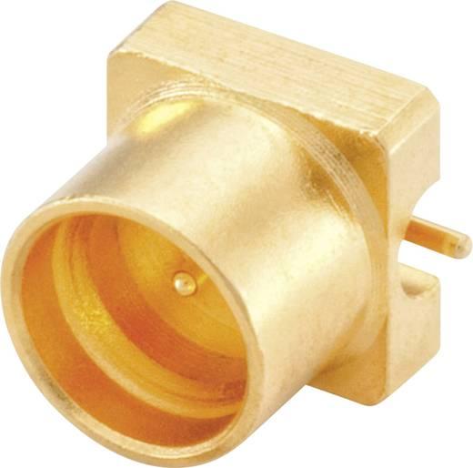 SMP-Steckverbinder Stecker, Einbau vertikal 50 Ω Rosenberger 19S102-40ML5 1 St.