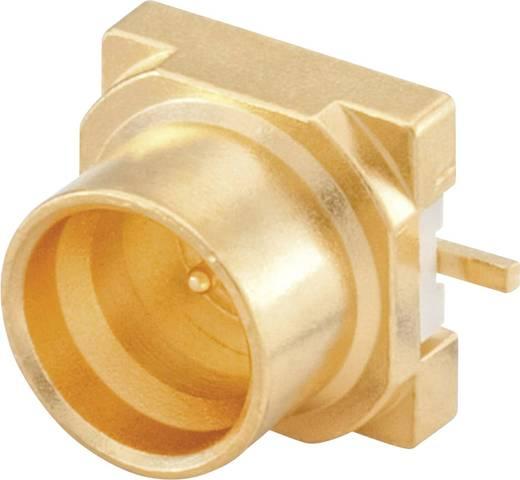SMP-Steckverbinder Stecker, Einbau vertikal 50 Ω Rosenberger 19S141-40ML5 1 St.