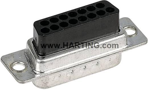 Harting 09 67 015 4701 D-SUB Buchsenleiste 180 ° Polzahl: 15 Crimpen 100 St.