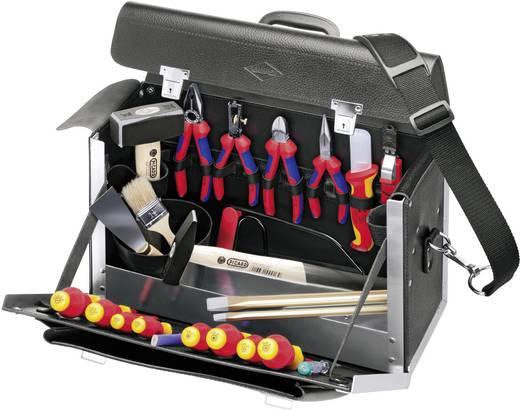 Lehrlinge Werkzeugkoffer bestückt Knipex STD.-MONTAGEKOFFER E-HANDWERK 00 21 02 SL (B x H x T) 420 x 250 x 160 mm