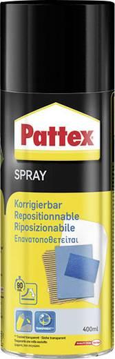 Pattex PXSC6 Pattex Power Spray Korregierbar 400 ml Geeignet für Repositionierbar verklebt Papier, Pappe, Fotopapier, Poster, Drucke etc. auf glatten und vielen porösen Untergründen.