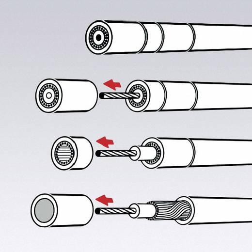Kabelentmanteler Geeignet für Koaxialkabel 4 bis 12 mm RG58, RG59, RG62 Knipex KOAX 16 60 05