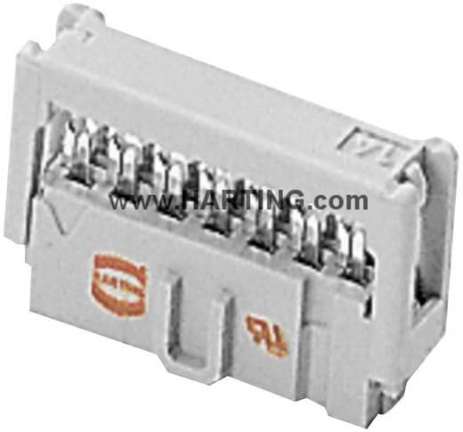 Harting Pfosten-Steckverbinder Rastermaß: 2.54 mm Polzahl Gesamt: 6 Anzahl Reihen: 2 1 St.