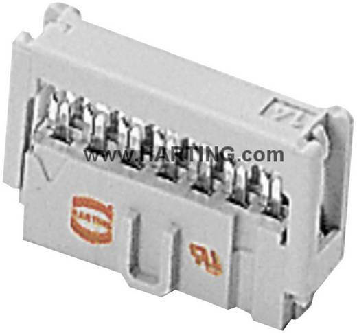 Pfosten-Steckverbinder Rastermaß: 2.54 mm Polzahl Gesamt: 14 Harting 1 St.