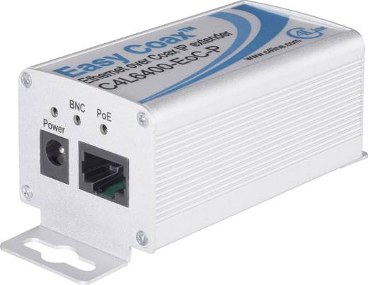 2-er Set Netzwerkverlängerung C4Line Koax Reichweite (max.): 1500 m 100 MBit/s