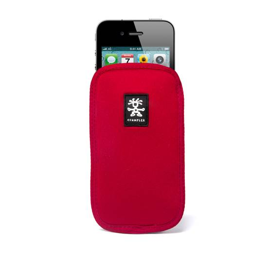 iPhone Tasche Crumpler Soft Case Smart Condo 70 Passend für: Apple iPhone 4, Apple iPhone 4S, Rot