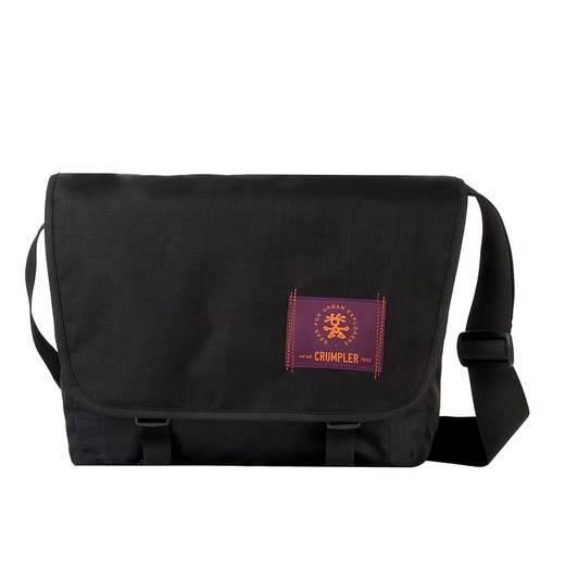 """Crumpler Notebook Tasche Webster Laptop Messenger Passend für maximal: 33,8 cm (13,3"""") Schwarz"""