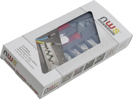 Presszangen-Set 502teilig Aderendhülsen 0.5 bis 16 mm² Inkl. Aderendhülsensortiment NWS 143B