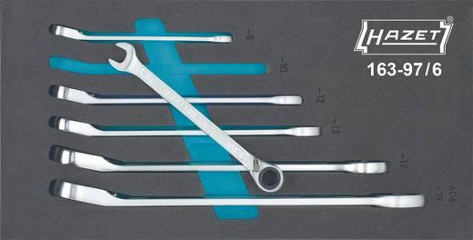 Knarren-Ring-Maulschlüssel-Satz 6teilig 8 - 19 mm Hazet 163-97/6