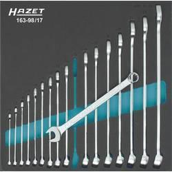 Sada očkoplochých kľúčov Hazet 163-98/17, 6 - 24 mm, 17-dielna