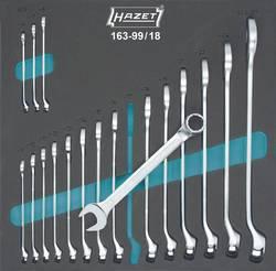 Sada očkoplochých klíčů Hazet 163-99/18, 6 - 27 mm, 18dílná