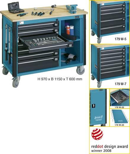 Hazet 179W-5 Fahrbare Werkbank