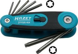 Lot de clés mâles TORX® intérieur Hazet 2115/8KH 8 pièces
