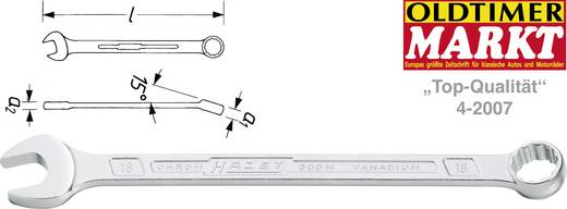 Ring-Maulschlüssel 15 mm DIN 3113 Form A, ISO 3318, ISO 7738 Hazet 600N-15