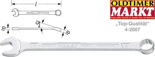 Ring-Maulschlüssel 17 mm DIN 3113 Form A, ISO 3318, ISO 7738 Hazet 600N-17
