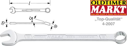 Ring-Maulschlüssel 6 mm DIN 3113 Form A, ISO 3318, ISO 7738 Hazet 600N-6