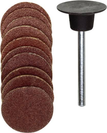 Gummischleifteller-Satz 11tlg. Proxxon Micromot 28 982 Schaft-Ø 3 mm Körnung 120, 150