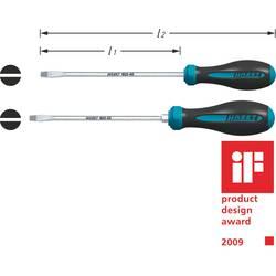 Plochý skrutkovač dielňa Hazet HEXAnamic 802-80, čepeľ 150 mm