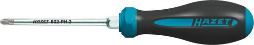 Werkstatt Kreuzschlitz-Schraubendreher Hazet PH 1 Klingenlänge: 80 mm DIN ISO 8764-1, DIN ISO 8764-2