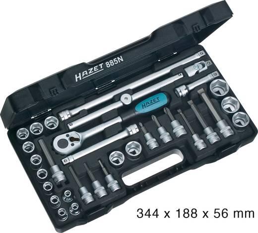 """Steckschlüsselsatz metrisch 3/8"""" (10 mm) 32teilig Hazet 885N"""