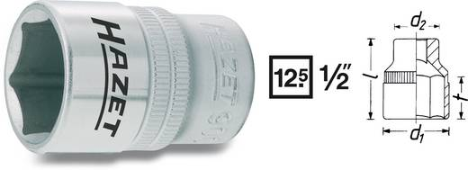 "Außen-Sechskant Steckschlüsseleinsatz 34 mm 1/2"" (12.5 mm) Produktabmessung, Länge 52 mm Hazet 900-34"
