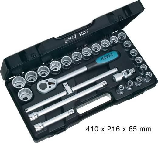 """Steckschlüsselsatz metrisch 1/2"""" (12.5 mm) 25teilig Hazet 900Z"""