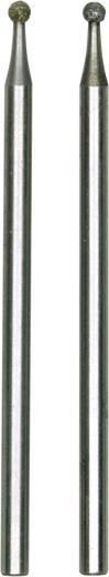 2er Diamantierte Schleifstifte Proxxon Micromot 28 222 Durchmesser 1.8 mm Schaft-Ø 2.35 mm