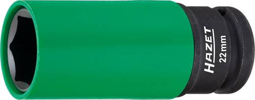 "Außen-Sechskant Kraft-Steckschlüsseleinsatz 22 mm 1/2"" (12.5 mm) Produktabmessung, Länge 85 mm Hazet 903SLG-22"