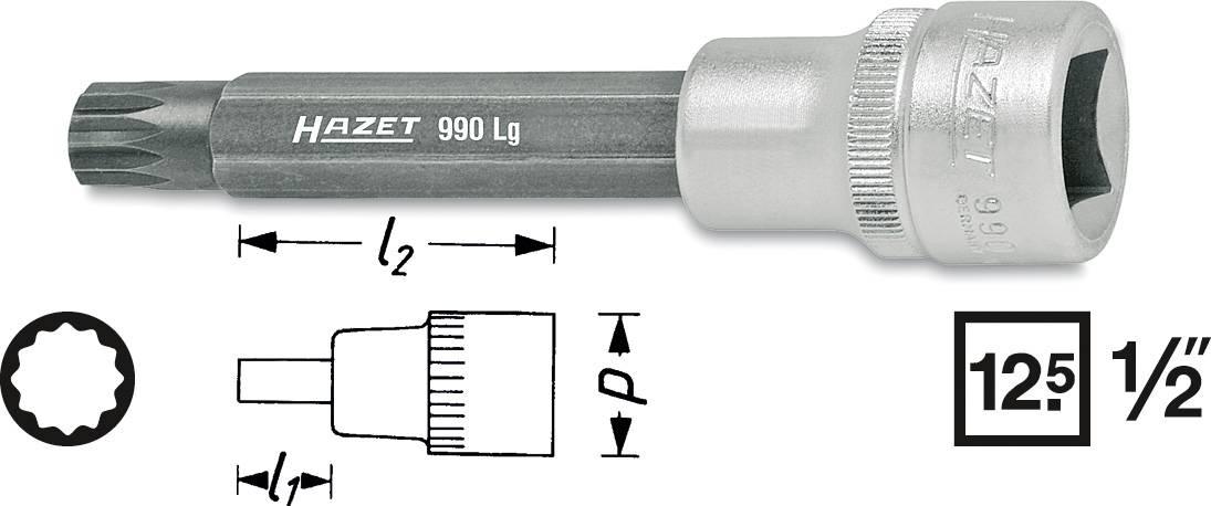 100mm Schraubendreher-Einsatz Innenvielzahn-Schrauben lang Vielzahn 1//2 M12 L