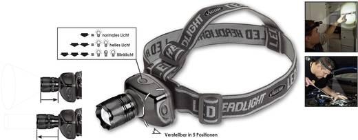 LED Stirnlampe Vigor Headlamp V1911 batteriebetrieben 100 lm 3 h V1911