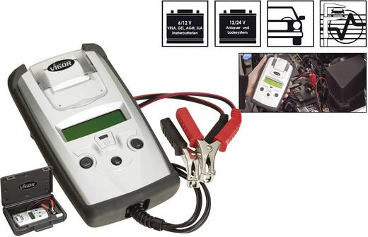 Batterietester und Ladesystem-Prüfgerät mit Thermodrucker V1922