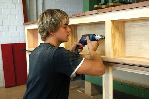 Holz-Spiralbohrer 20 mm Heller 11928 3 Gesamtlänge 200 mm Zylinderschaft 1 St.