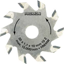 Pilový list osazený tvrdokovem Proxxon, Micromot 28016, Ø 50 mm, počet zubů na článek: 10