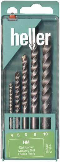 Stein-Spiralbohrer-Set 5teilig Heller 17745 0 Zylinderschaft 1 Set