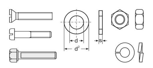 Kombi-Schrauben-Sortiment Nachfüllpackung 3000 Teile 803596
