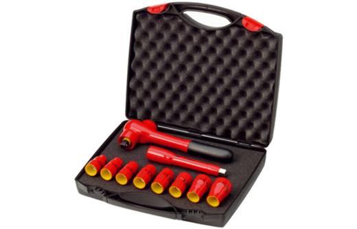 "Steckschlüsselsatz metrisch 3/8"" (10 mm) 10teilig Wiha Insulated tools 7207N K1001 33183"
