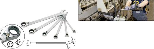 Knarren-Ring-Maulschlüssel-Satz 6teilig 21 - 32 mm Hazet 606/6-1