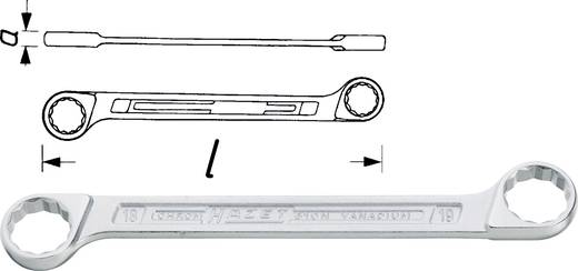 Doppel-Ringschlüssel 24 - 26 mm DIN 837-B, DIN ISO 10103 Hazet 610N-24X26