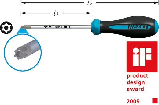 Werkstatt Torx-Schraubendreher Hazet Größe TR 9 Klingenlänge: 60 mm