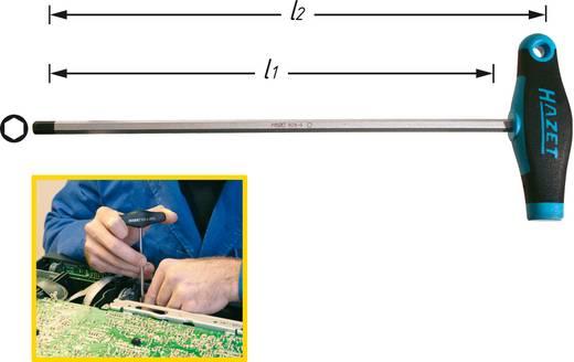Werkstatt Innen-Sechskantschraubendreher Hazet Schlüsselweite (Metrisch): 2.5 mm Klingenlänge: 100 mm