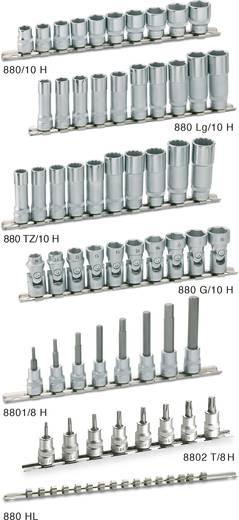 """Außen-Sechskant Gelenk-Steckschlüsseleinsatz-Set 10teilig 3/8"""" (10 mm) Hazet 880G/10H"""