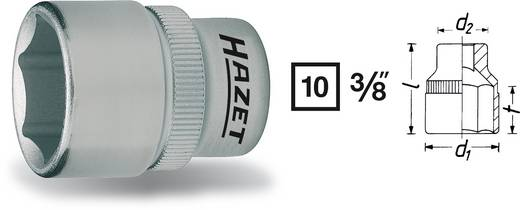 "Außen-Sechskant Steckschlüsseleinsatz 19 mm 3/8"" (10 mm) Hazet 880-19"