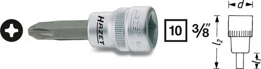 """Kreuzschlitz Phillips Steckschlüssel-Bit-Einsatz PH 1 3/8"""" (10 mm) Hazet 8806-PH1"""