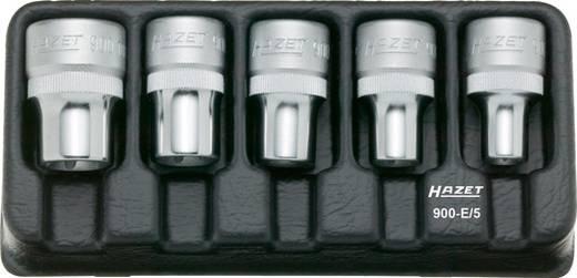 """Hazet 900-E/5 Außen-TORX Steckschlüsseleinsatz-Set 5teilig 1/2"""" (12.5 mm)"""